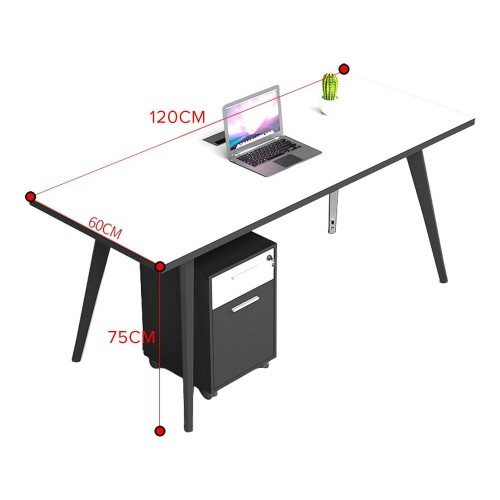 VACAY Single-Sided Open Concept Workstation (1-Seater)