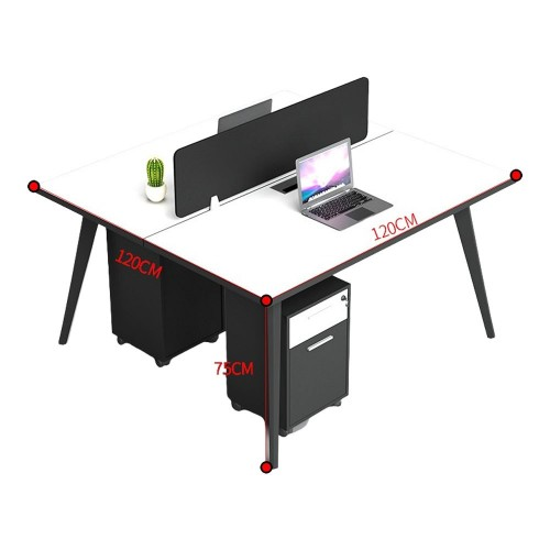 VACAY Double-Sided Open Concept Workstation (2-Seater)