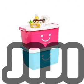 Smiley Face Stacking Storage Container