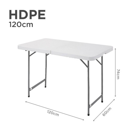 HDPE Folding Table in 120cm (Rectangular)