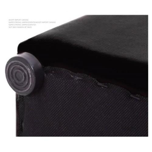 Leather Grade Storage Ottoman Stool (Small)