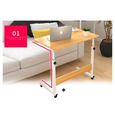 MARIUS Height Adjustable Laptop Desk in 80cm