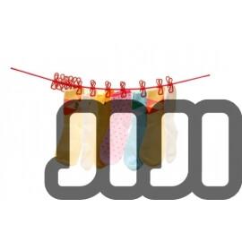 12 Piece Clip-On Smart Hangers