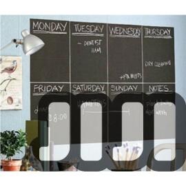 Self Adhesive Chalkboard (8 Pcs)