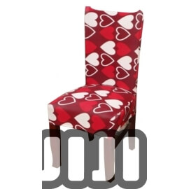 Designer Dining Elastic Chair Covers