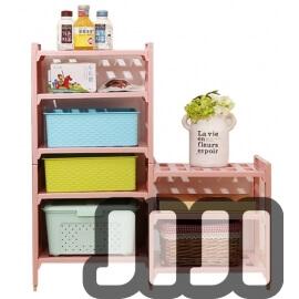 DIY Stackable Storage Rack