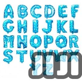 Alphabet Balloons (BLUE)