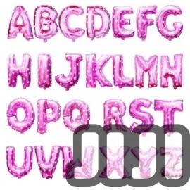 Alphabet Balloons (PINK)