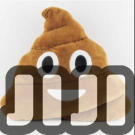 Emoji Poo Cushions