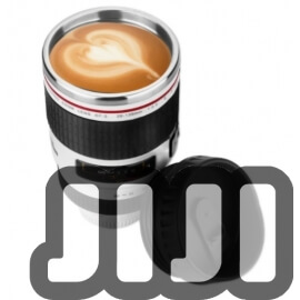 Self Stir Mug (Camera Lens) [500ml]