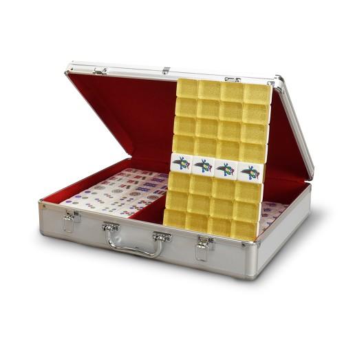 GOLD Mahjong Tiles Set, Size 37