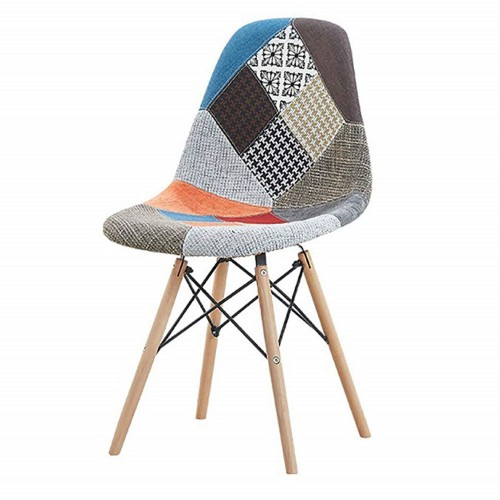 EAMES Patchwork Replica Chair