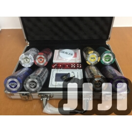 200pcs Prmium Poker Chips