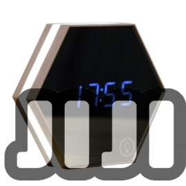 Hexagon Alarm Clock