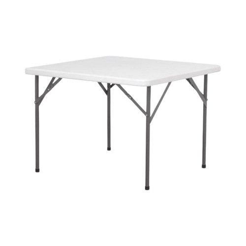HDPE Folding Table, Square