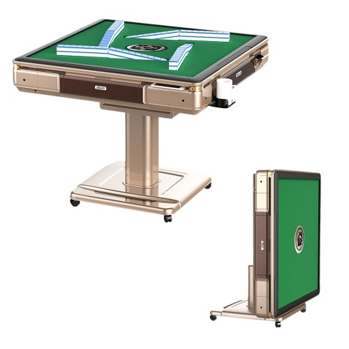 JIJI.SG Automatic Mahjong Table, Rollercoaster, Manual Fold