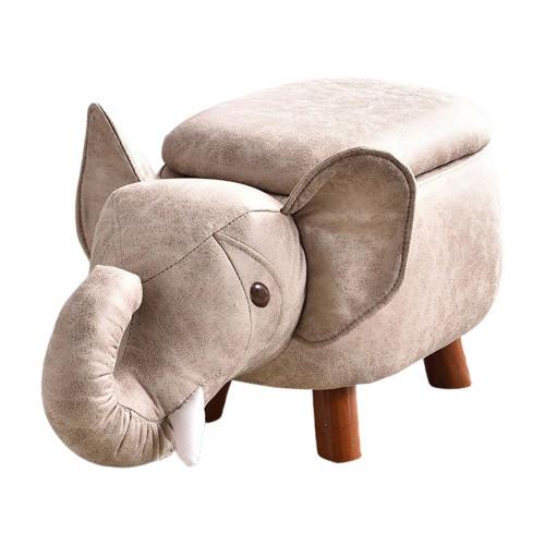 ELEPHANT Stool with storage