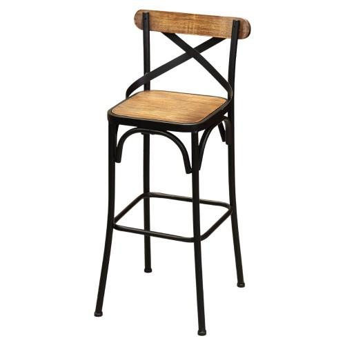 RDT-07 Bar Stool with Backrest