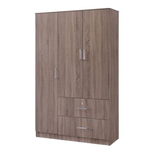 Manor 3 Door Wardrobe with Drawers