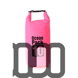 Waterproof Tube Dry Bag (PINK)