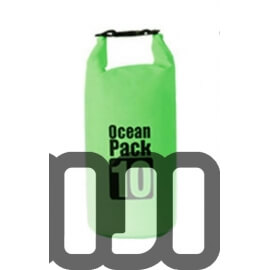 Waterproof Tube Dry Bag (GREEN)