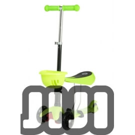 3-in-1 Baby Sitting Scooter