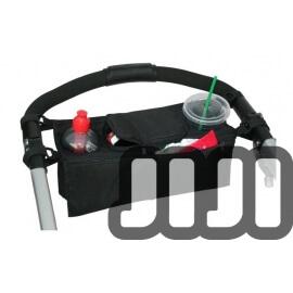 Stroller Bottle Holder with Storage