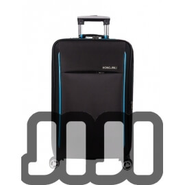 NEW Fabric Multi Compartment Luggage (Black)