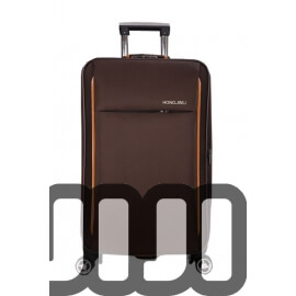 NEW Fabric Multi Compartment Luggage (Coffee)
