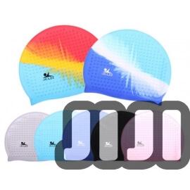 Adult Silicone Swim Cap (Free Size)
