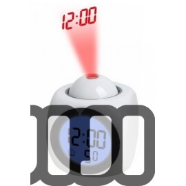 Dice LCD 3D Alarm Clock