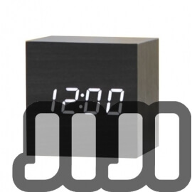 Wooden Dice Alarm Clock