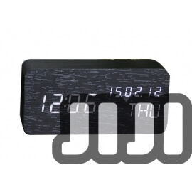 Wooden Premium Rectangle Alarm Clock