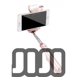 Selfie Stick with Built-in Flash (WIRED)