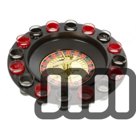 RUSSIAN ROULETTE DRINKING GAME SET - 16 PIECE