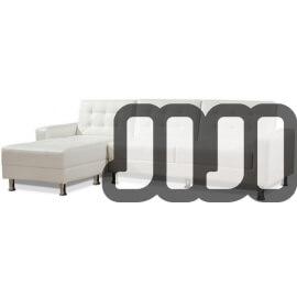 Theora Storage Sofa Bed (Premium) 【Leather】