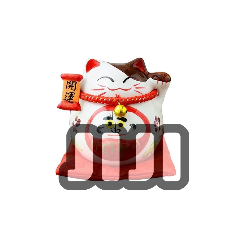 CNY Fortune Cat - 达摩财神 [503]