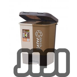 MULTI-PURPOSE DUAL-USE PLASTIC RUBBISH BIN (HLWB - 10)