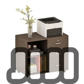 Lowell Bedside/Office Movable Cabinet With Keylock【Design E】