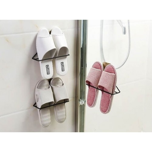 Wall Mounted Metal Shoe Rack Hanger (Single)