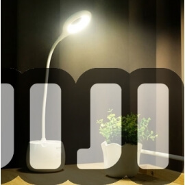 Chargeable Storage Table Top Lamp