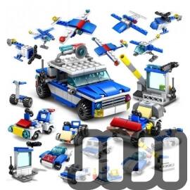 [KY67251] JIJIBLOCKS Transport Series (16 in 1)