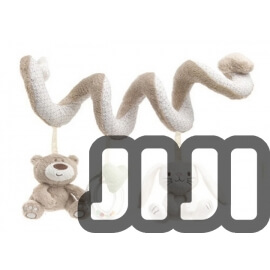 Cot Bed Decoration Cot Spiral