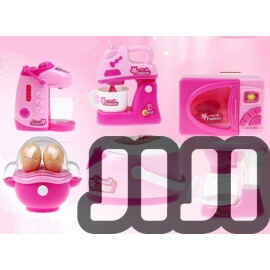 Kids Home Electronic Toy (Kitchen 6 In 1 Set)