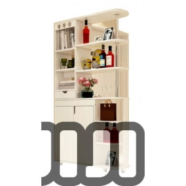 Mikaela Partition Cabinet (Design i)