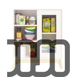 Mozilo Kitchen Cabinet (SINGLE DOOR - 80CM)