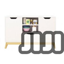 Mozilo Kitchen Cabinet (DUAL DOOR - 120CM)