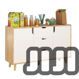 Lissoni Premium Kitchen Cabinet (2 DOORS + 3 DRAWERS)