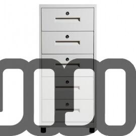 Optimus 5 Tier Metal Office Pedestals