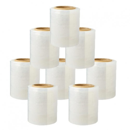 Stretch Film Bundle Wrap Roll 100mm (30 Rolls/Carton)